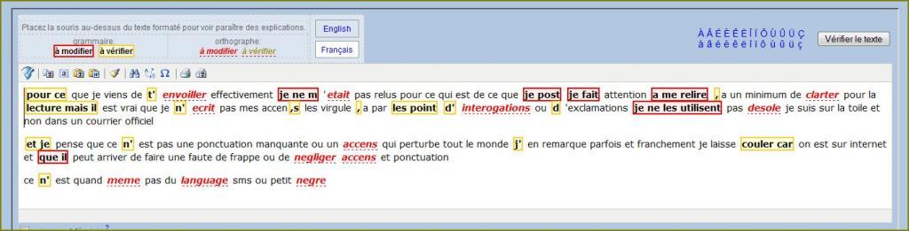 Orthographe, Ponctuation, accents, ... Faute-25e0e01