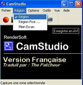 Utilisation de Camstudio R-gion-27ed513
